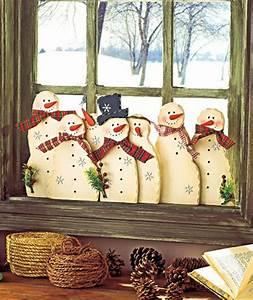 Fenster Weihnachtlich Gestalten : 35 bastelideen f r fenster weihnachtsdeko ~ Lizthompson.info Haus und Dekorationen