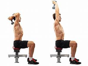Master Class – Seated Overhead Dumbbell Triceps Extension ...