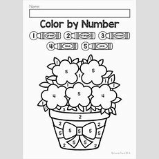 Spring Color By Number Packet Includes Numbers 15, 110 And 1120  My Tpt Products