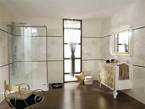 exemple salle de bain carrelage solutions pour la With carrelage adhesif salle de bain avec enceinte avec led