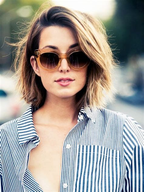 classy and cute short haircuts for thick hair ohh my my