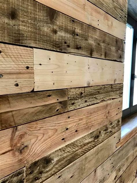 DIY Pallet Wall Paneling / Wall cladding   Pallets Pro