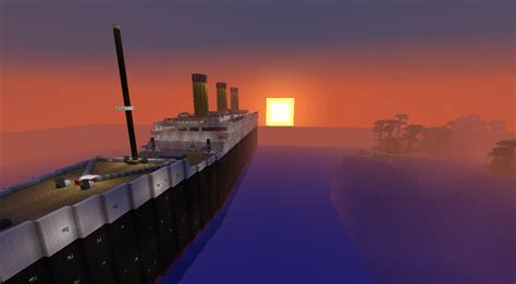 Minecraft Titanic Sinking Server Ip by Titanic Departure Travel And Sinking Minecraft