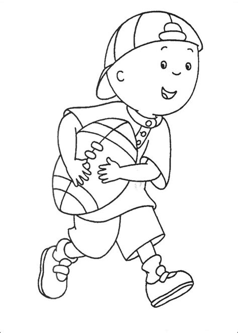 printable caillou coloring pages  kids