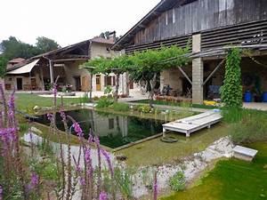 Construction Piscine Naturelle : piscine naturelle biologique lagune ~ Melissatoandfro.com Idées de Décoration