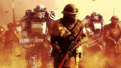 Fallout Vegas Armor California Republic Power Wallpapers