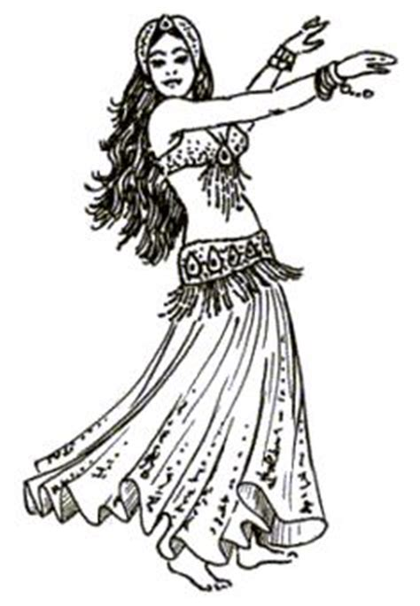 bellydancepicturesdrawingsgraphic images
