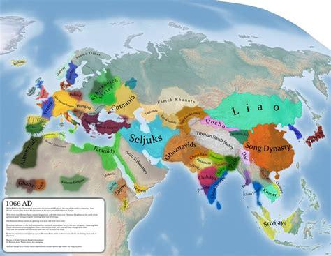 map   eastern hemisphere  ad