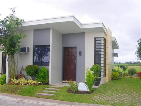 Minimalist Beautiful Small House Design For Bahay Ofw