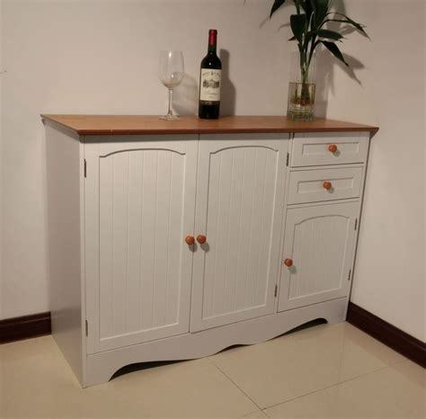 kitchen cabinet buffet free postage buffet sideboard table kitchen cupboard 2378
