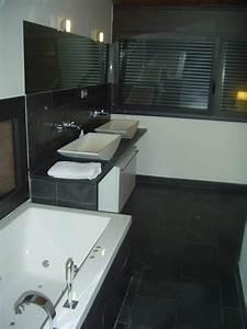 Minardoises sol de salle de bain en ardoise for Salle de bain en ardoise