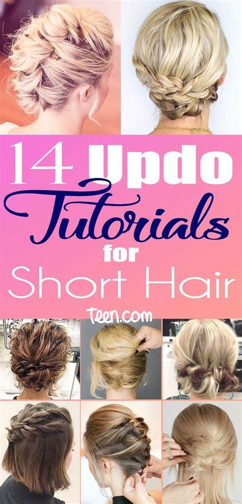 ideas  teased short hair  pinterest messy