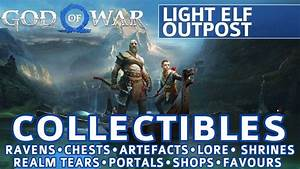 God of War - Light Elf Outpost All Collectible Locations ...