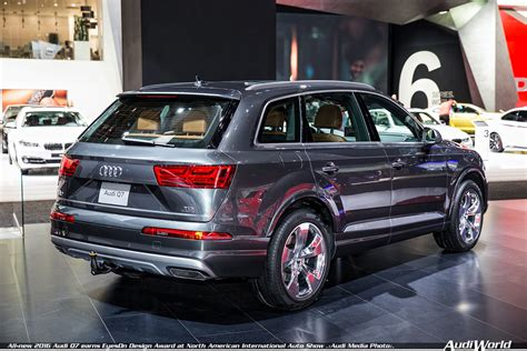 Allnew 2016 Audi Q7 Earns Eyeson Design Award At North