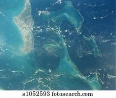 aerial  bahama banks stock image  fotosearch