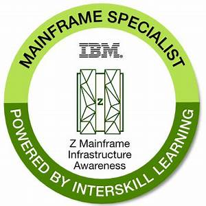 Badges: Interskill - Mainframe Specialist - Z Mainframe ...