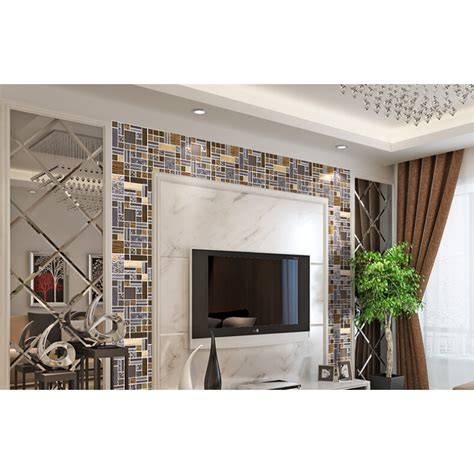 bathroom kitchen tiles glass mosaic tile stainless stell tiles wall 1507