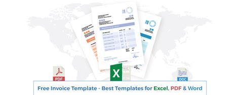 invoice template   employed  company