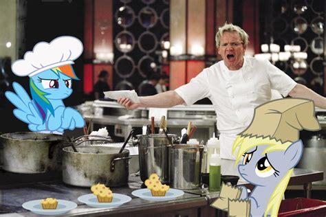 ponies  hells kitchen  normanb gordon ramsay   meme