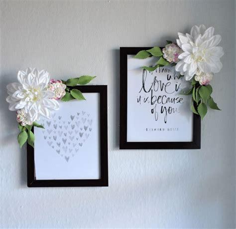 fiori di legno fai da te 1001 idee per portafoto fai da te tutorial da seguire