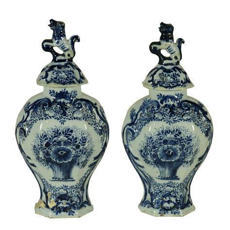ceramica vasi coppia di vasi in ceramica ceramiche antiquariato
