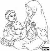 Coloring Muslim Printable Islamic Arabic Getcolorings Getcoloringpages Getdrawings Patterns sketch template