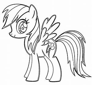 My Little Pony Rainbow Dash Coloring Pages | Free download ...