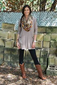 Casual tunic and legging outfit - FMag.com