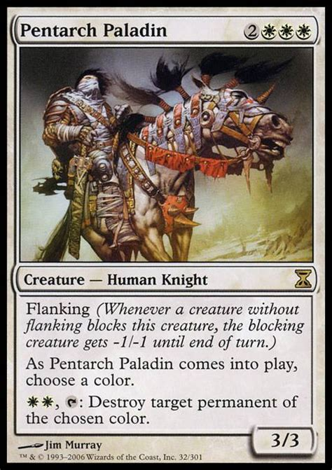 Human Mtg Deck by Pentarch Paladin Mtg Card