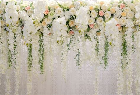 photography backdrops floral wedding backdrop  party