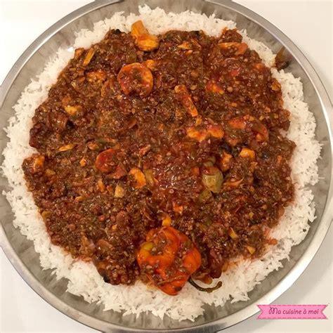 recette de cuisine senegalaise soupe kandjé express lacuisinededaba