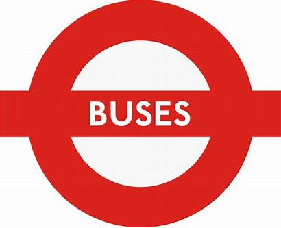Buses Bus London Svg Roundel Transport Transparent