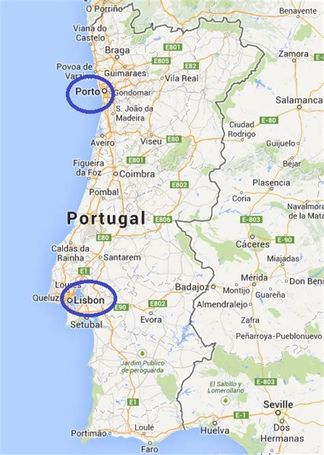 Porto To Lisbon by Portugal And Madeira Island 2016 From Sagres To Porto