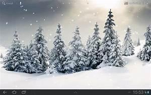 Live Falling Snow Desktop Wallpaper - WallpaperSafari