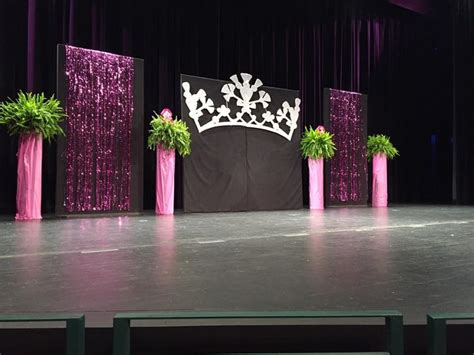 staging    pink benefit pageant