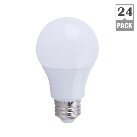 non dimmable led lights ecosmart 60w equivalent soft white a19 non dimmable led