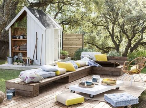 salon de jardin en palette 21 idées à découvrir