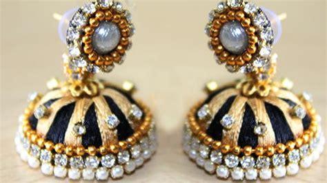 Silk Thread Jewelry Making Tutorial Gordon Lawrie Jewelry Terracotta Jewellery Making In Tamil Sarees Designs Designer Atlanta Wholesale Mumbai Jobs Vacancies Kohls Warranty On Simple Earrings