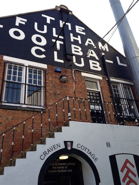 fulham cottage welcome to craven cottage fulham fc