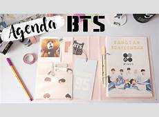 DIY KPOP AGENDA BTS 2017 with English subtitles YouTube