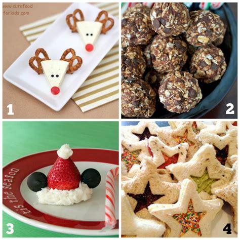 christmas snacks kids  love