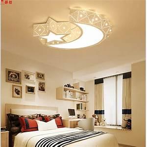 Creative, Star, Half, Moon, Led, Ceiling, Light, 85, 265v, 24w, Led, Child, Baby, Room, Lights, Ceiling, Lamps