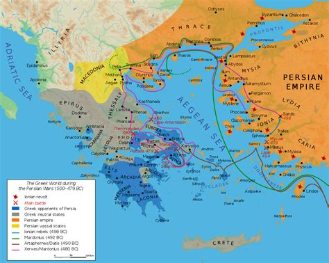 First Persian Invasion Of Greece  Wikipedia