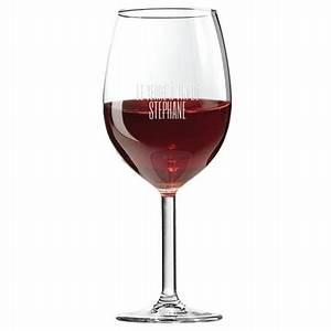 Support Verre à Vin : verre vin personnalis avec un pr nom grav ~ Teatrodelosmanantiales.com Idées de Décoration