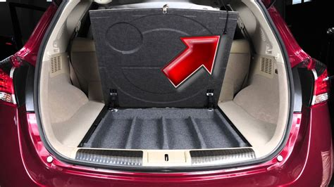 nissan murano spare tire  tools youtube