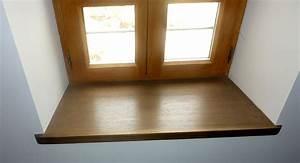 fenetre bois sur mesure par menuisier menuiserie salvi With appui de fenetre interieur