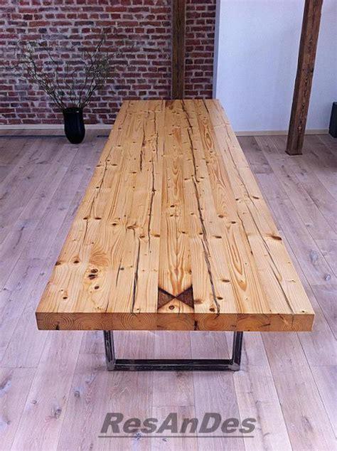 Tisch Aus Holzdielen by Esstisch Aus Alten Balken Esstisch Balken Altholzmoebel
