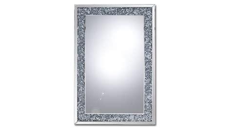 miroir rectangulaire cadre strass manihi pas cher prix miroir mobilier moss 419 00