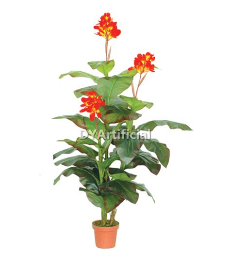 height of plant 165cm height artificial canna lily plant dongyi