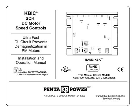 kb electronics kbic ds user manual  pages